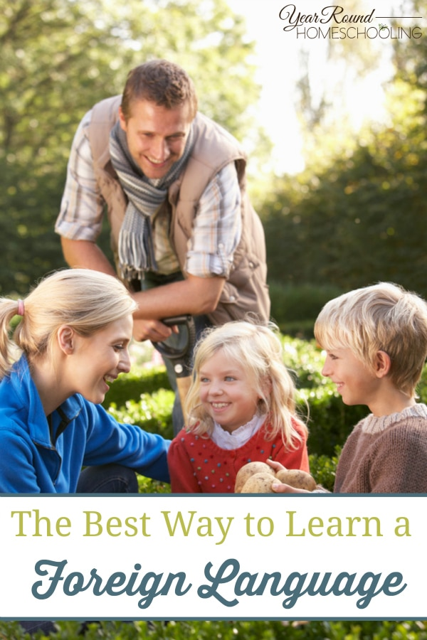 The Best Way to Learn a Foreign Language - By Jennifer K.