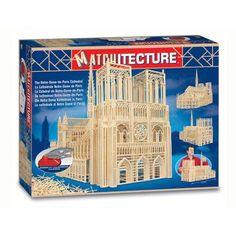 Matchitecture the Notre-Dame-de-Paris Cathedral Building Kit
