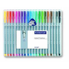 Staedtler Triplus Fineliner Pens - 20 / Pack