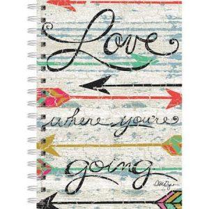Love Where You Go Spiral Journal