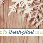 A Homeschool's Fresh Start is a New Year