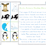 Arctic Animals Matching Game