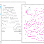 Arctic Animals Maze Pack