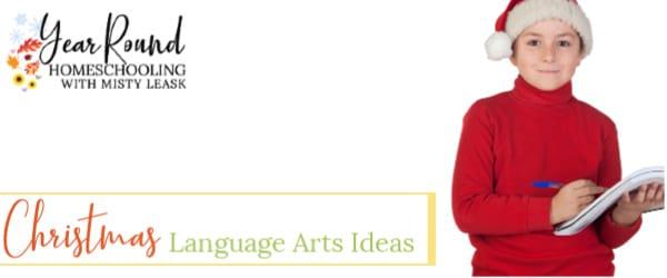 advent, Christmas, christmas language arts, christmas writing prompts, copywork, language arts, literature, reading, writing, writing prompts