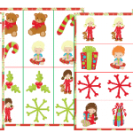Christmas Matching Game Pack