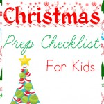 Christmas Prep Checklist for Kids