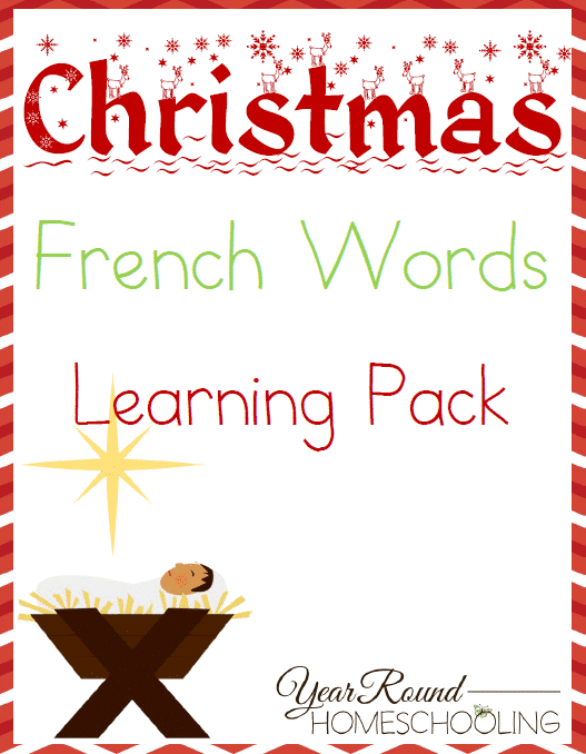 French christmas words year round homeschooling m4hsunfo