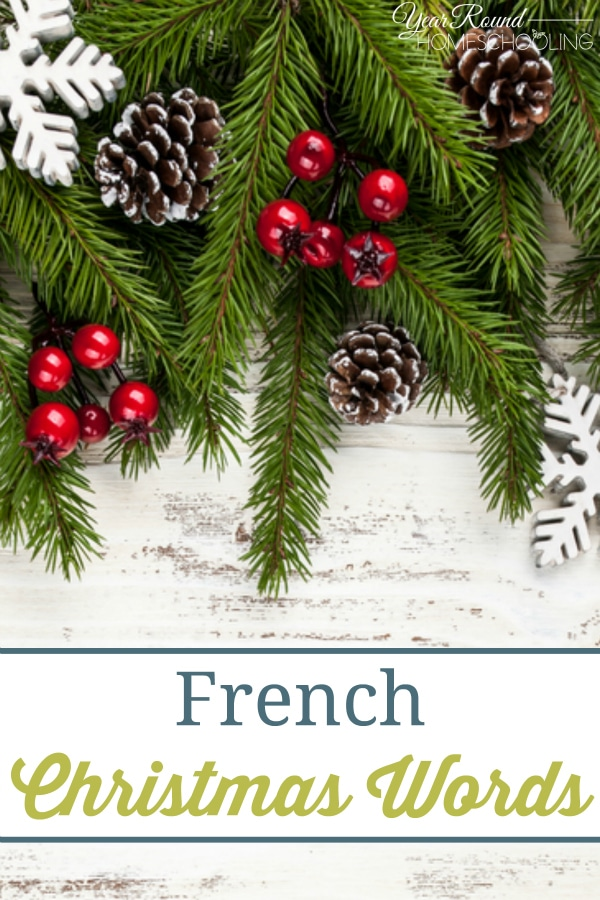 French Christmas Words - By Misty Leask