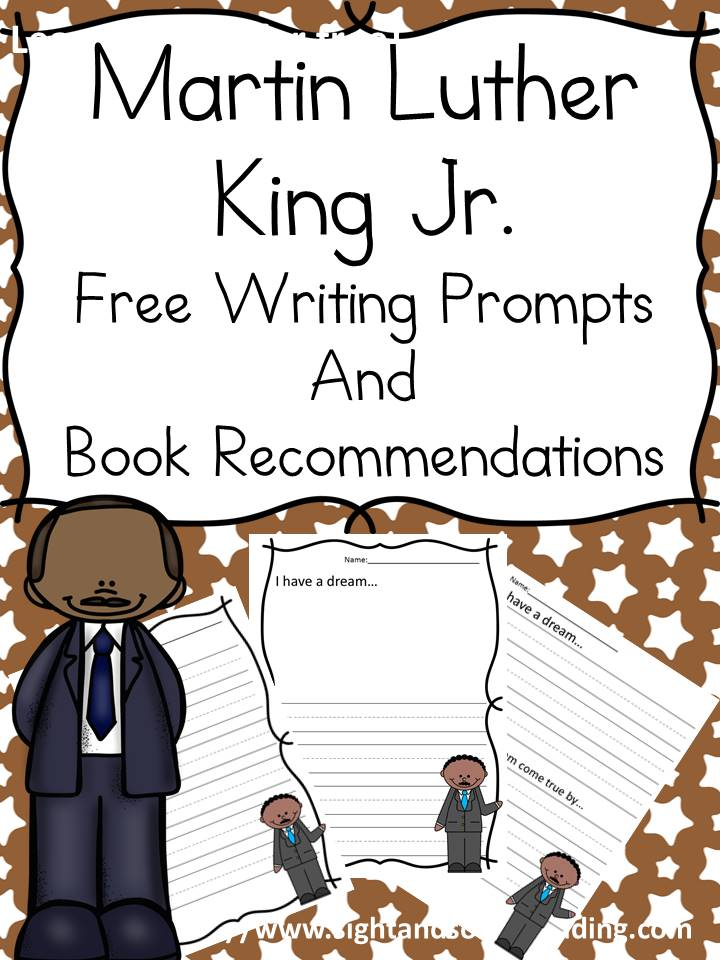 Free Martin Luther King Jr. Lesson and Writing Prompts