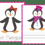 Penguins Penmanship Pack (PreK-Middle School)