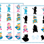 Snow Fun Matching Game Pack