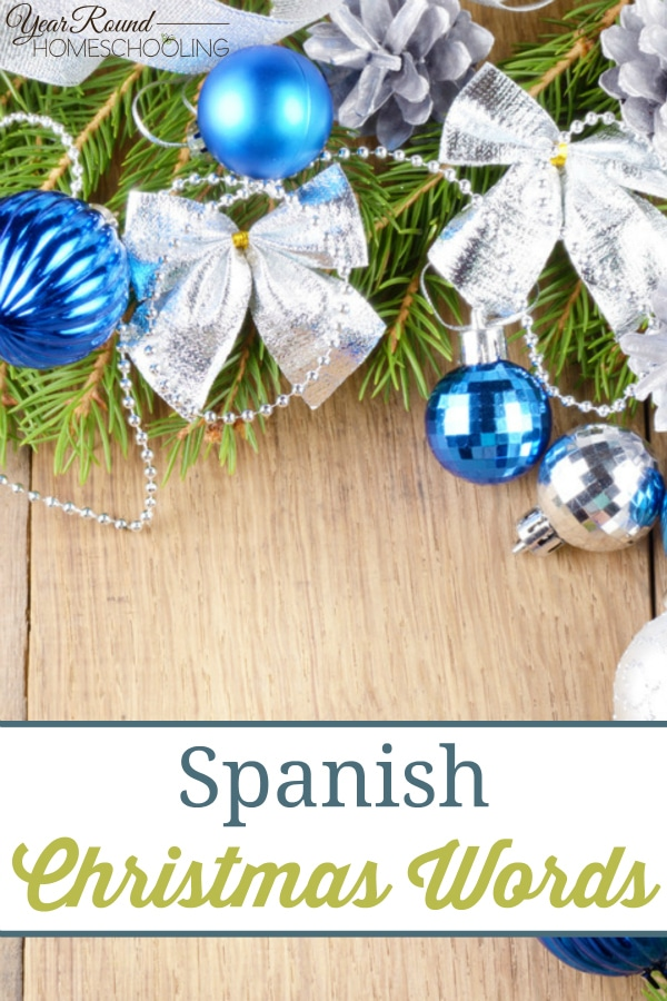 Spanish Christmas Words - By Misty Leask