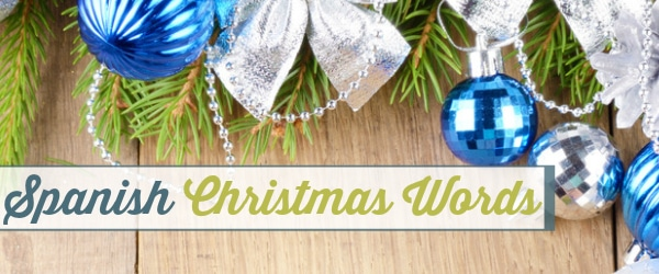 Spanish Christmas Words