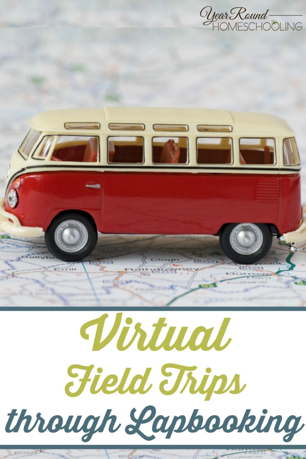 Virtual Field Trips through Lapbooking - By Sara