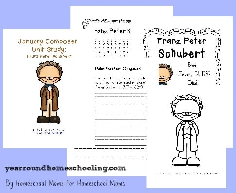 Composer Music Study: Franz Schubert