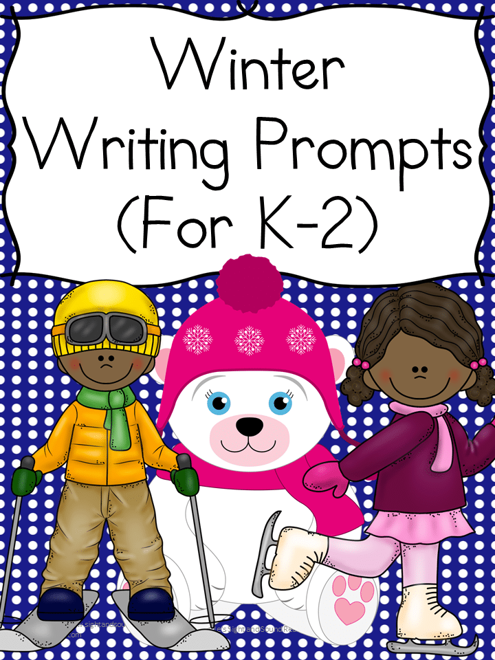Free Winter Writing Prompts - K-2