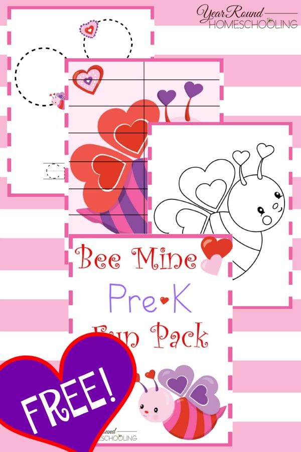 valentine's day, preschool, prek, homeschool, homeschooling, fun, printable, tracing, coloring, puzzles
