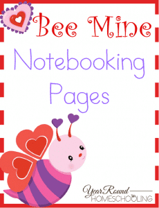 Bee Mine Notebooking Cover