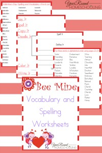 bee mine valentine 39 s day printables year round homeschooling. Black Bedroom Furniture Sets. Home Design Ideas