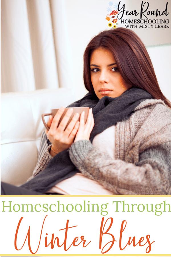 homeschooling through the winter blues, homeschooling winter blues, winter blues homeschooling, homeschool winter blues, winter blues homeschool