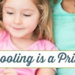 Homeschooling is a Privilege