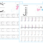 Free Polar Bear PreK Handwriting Pack