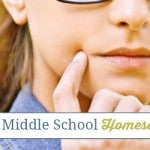 Reflections of a Middle School Homeschool Mom