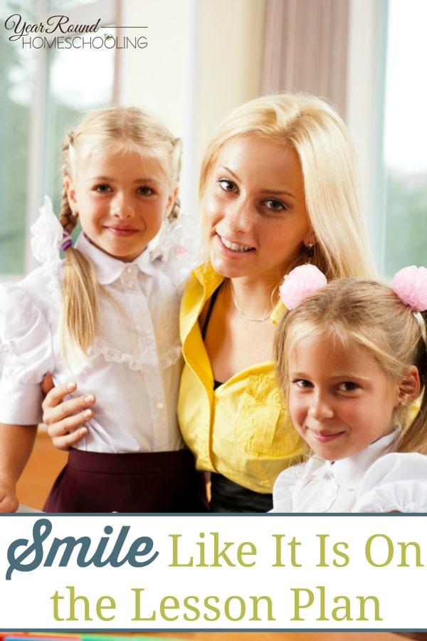 smile, lesson plan, rabbit trail, homeschool, homeschooling, mom