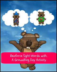 Free Groundhog Day Activity Pack