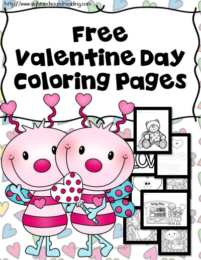 Free Valentine's Day Coloring Pages