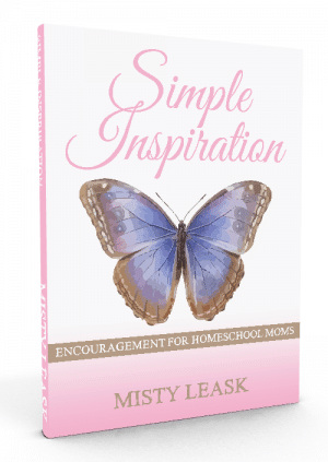 Simple Inspirations: Encouragement for Homeschool Moms