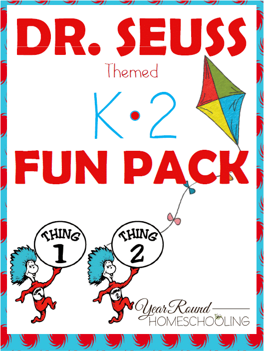 Free Dr. Seuss Themed K-2 Fun Pack