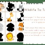 Free Wildlife PreK Game Pack