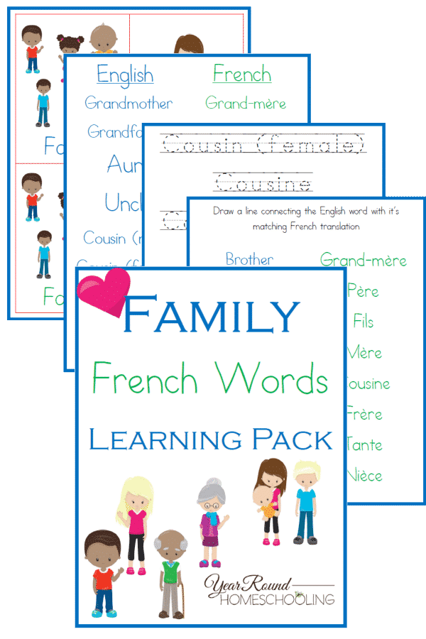 French Family Words
