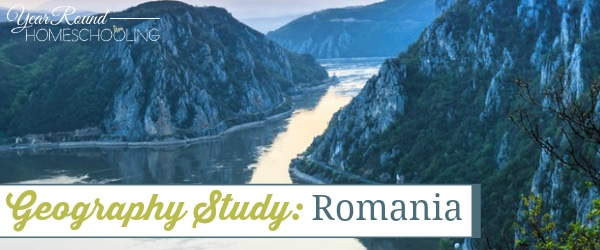 geography, romania, homeschool, homeschooling