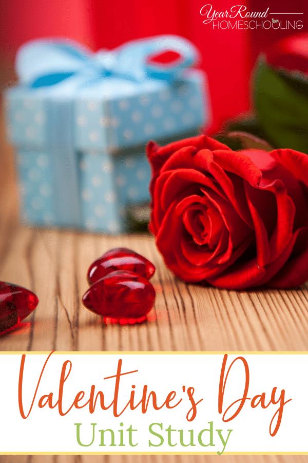 valentine's day unit study, valentine's day study, valentine's day unit
