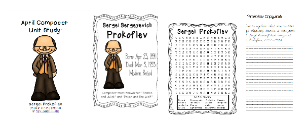 April Composer Study: Sergei Prokofiev