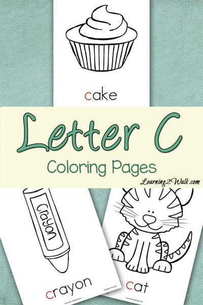 Free Letter C Coloring Pages