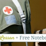 Clara Barton Lesson & Free Notebooking Pages