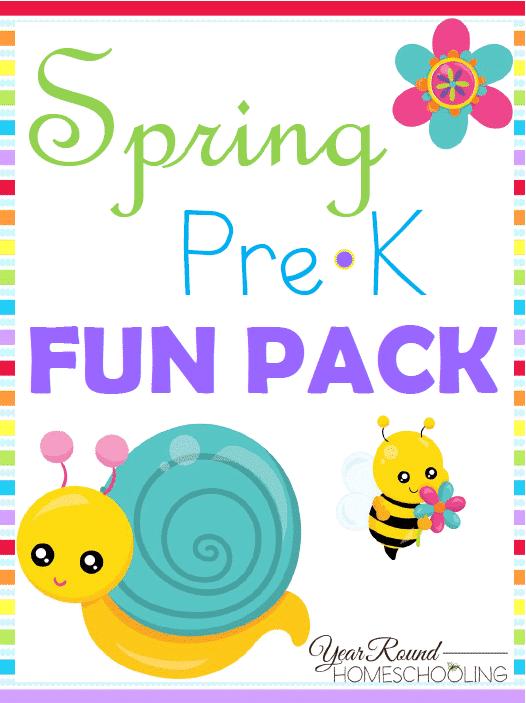 Free Spring PreK Fun Pack
