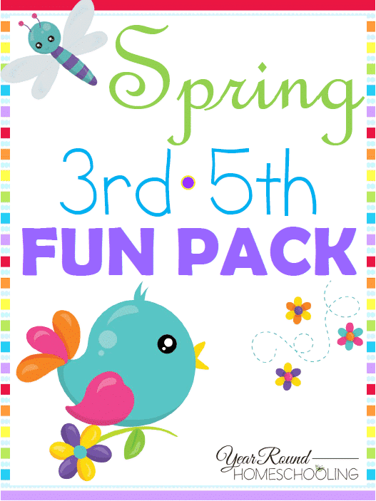 Free Spring 3rd-5th Fun Pack