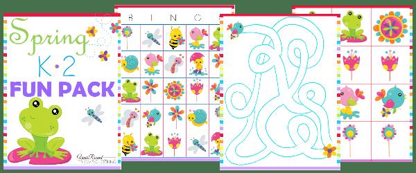 Free Spring K-2 Fun Pack