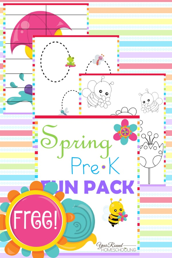 spring, prek, preschool, tracing, coloring, puzzles, homeschool, homeschooling, printable