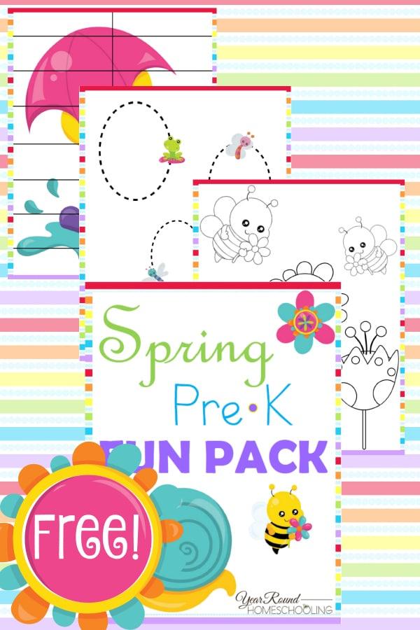 spring, prek, preschool, tracing, coloring, puzzles, homeschool, homeschooling, printable