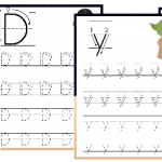 Free Star Wars Preschool Handwriting Pack