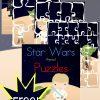 star wars, puzzles, homeschool, homeschooling, printable