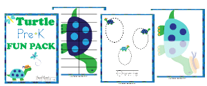 Free Turtle PreK Fun Pack