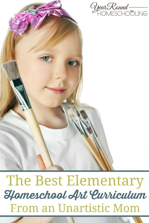 art, homeschool, elementary art curriculum, homeschool art curriculum, homeschooling, home art studio