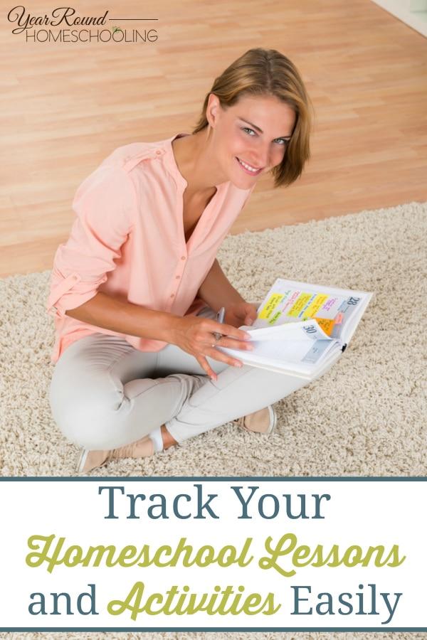 homeschool planning, lesson plan tracking, homeschool lesson plans, homeschool planner, homeschool, homeschooling, Erin Condren Life Planner