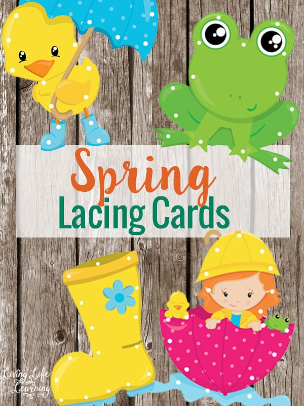 Free Spring Lacing Cards